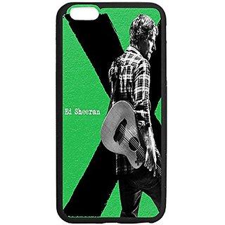 Ed Sheeran Album Cover Design Iphone 6 plus Case,Case-Unique Protective Cover Skin for Iphone 6 plus 5.5 TPU Black