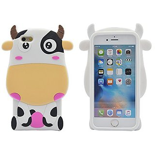 iPhone 6S Plus Case, TURF Cartoon Series 3D Cute Shockproof Soft Silicone Cover for Apple iPhone 6S/6 Plus 5.5 Inch Dair