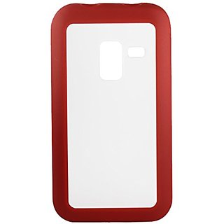 Reiko PP-SAMR920RD Hybrid Gummy PC/TPU Slim Protective Case for Samsung Galaxy Attain 4G R920 - 1 Pack - Retail Packagin