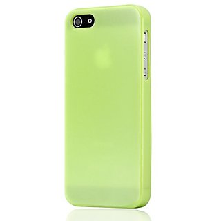 Gearonic AV-5118EPUIB NEW Slim TPU Gel Hard Case Cover Skin for Apple iPhone 5 - Non-Retail Packaging - Green