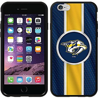 Coveroo Switchback Case for iPhone 6 - Retail Packaging - Nashville Predators - Jersey Stripe Design