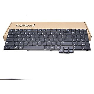 Laptopaid New Keyboard For Samsung R528 R530 NP-R530 R540 NP-R540 NP-R620 R620 R618 P580 RV510 RV508 S3510 E352 US Black