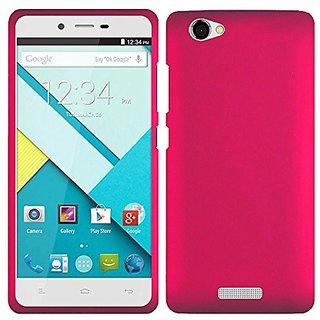 HR Wireless BLU Studio Energy D810L Rubberized Case - Retail Packaging - Hot Pink