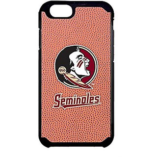 Florida State Seminoles Classic Football Pebble Grain Feel iPhone 6 Case,One Size,Brown