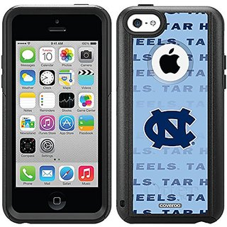 Coveroo Defender Series Cell Phone Case for iPhone 5/5s - Retail Packaging - North Carolina Repeating