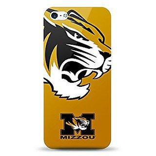 Mizco Sports Case TPU Gel Case for iPhone 5S NCAA University