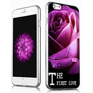 V.point- rose folower cover case,iPhone 6p/6s plus hard cover case, apple iPhone 6p/ 6s plus hard case ROSE LOVE FOR YOU