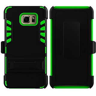 Galaxy Note 5 Case, Sevenday Full Body Rugged Holster Case with Swivel Belt Clip - Dual Layer Shock Resistant Cover for
