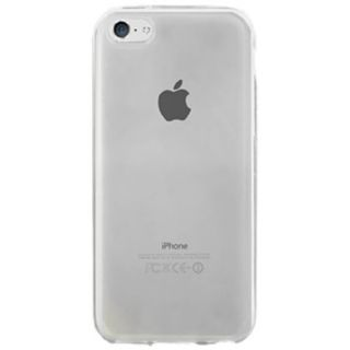 Beyond Cell Apple iPhone 5C Lite TPU Frosted Protective Cover - Retail Packaging - Clear
