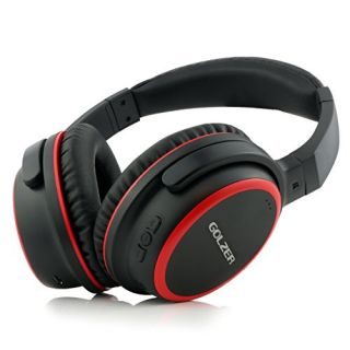 Golzer BTX40 Bluetooth 4.1 Wireless OverEar Headphones with Microphone and CSR apt-x & Internal Rechargeable Battery (Du