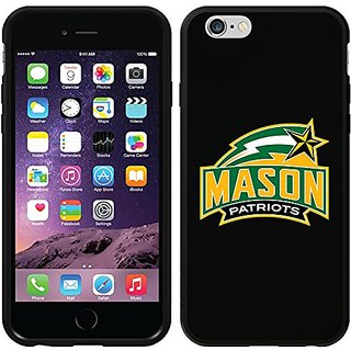 Coveroo Switchback Cell Phone Case for iPhone 6 - Retail Packaging - George Mason Primary Mark Design