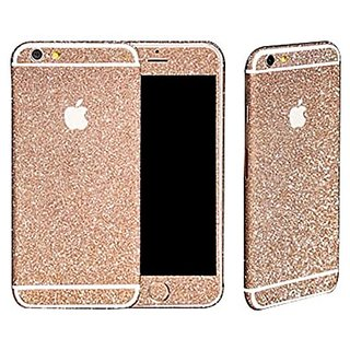 V.POINT Beauty Luxury Shiny Sparkle Bling Sparkling Full Body Glitter Sticker Skin Film Case For Apple iphone 6S PLUS/6P