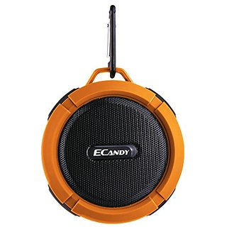 Ecandy 5 Watt Driver Portable Waterproof Bluetooth 3.0 Speaker Rugged Wireless For Outdoor/Shower with Built-in Micropho