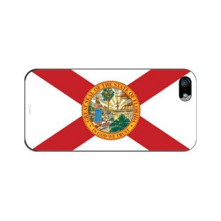 Cellet Proguard Case with Florida State Flag Design Case for Apple iPhone 5 - Black
