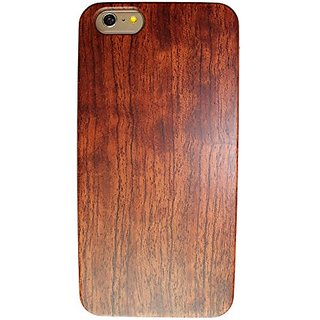 Olina iPhone 6 plus Case Handmade Real Natural Hard Wood Bamboo Case Cover Carving Wood Case for iPhone 6 Plus (5.5) (Wo