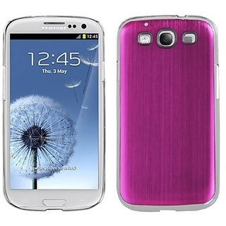 MYBAT SAMSIIIHPCBKCO007NP Premium Metallic Cosmo Case for Samsung Galaxy S3 - 1 Pack - Retail Packaging - Hot Pink