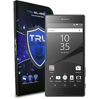 TRUGLASS Screen Protector for Sony Xperia Z5 Premium - Retail Packaging - Z5 Premium Temglass 3