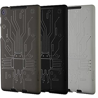 Nexus 7 FHD (2013) Case, Cruzerlite Bugdroid Circuit Bundles of 3 TPU Cases Compatible for New Nexus 7 FHD (2013) - Smok