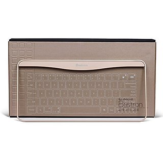 Bastron Transparent Touch Glass Keyboard with Mouse&gesture Function Biggest Technological Innovation New Ver.3(Gold)