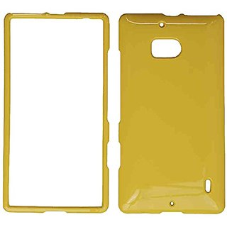 Cell Armor Nokia Lumia Icon/929 Snap-On Protective Cover - Retail Packaging - Honey Bright Yellow
