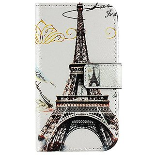 Galaxy Core Prime SM-G360 Case AIYZE PU Leather Color Print Wallet Function Stand Credit Card Holder Magnetic Snap Front