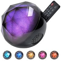 Ball Bluetooth Speaker, Kingstar Wireless Color Changing Misic Play Mobile Phone Remote Disco Party LED Colorful Rainbow