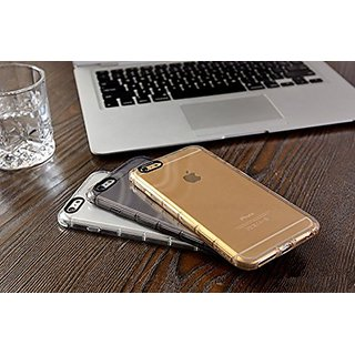 iPhone 6/6s/6plus/6s plus Case, by APAZ Shock-Absorption Bumper TPU, Drop Protection Crystal Clear, (iPhone 6 /6s (Gold)