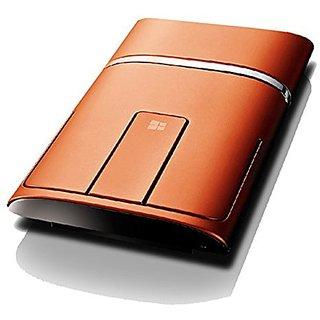 Lenovo N700 Dual Touch Slim 2.4G Wireless Mouse Bluetooth 4.0(Orange)