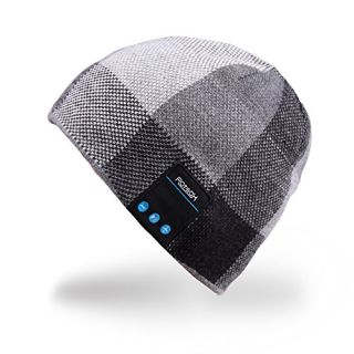 Mydeal Wireless Bluetooth Beanie Hat Headphone Headset Music Audio Cap for Women Men with Speaker & Mic Hands Free Outdo