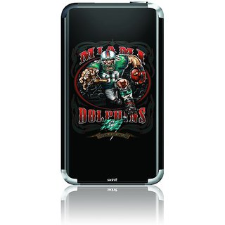 Skinit Protective Skin for iPod Touch 1G (Illustrated Miami Dolphin Running Back)