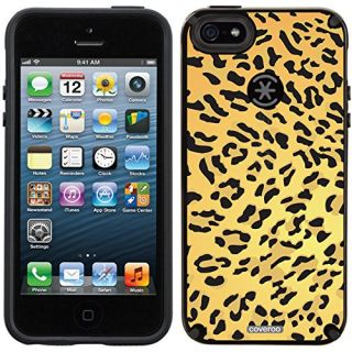Coveroo CandyShell Cell Phone Case for iPhone 5/5s - Retail Packaging - Leopard