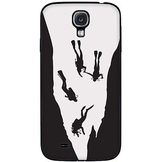 Cellet Divers Skin for Samsung Galaxy S4 - Black/White