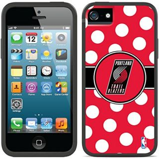 Coveroo CandyShell Card Cell Phone Case for iPhone 5/5s - Portland Trailblazers Polka Dots