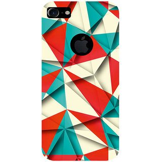 GripIt Crushed Paper Pattern Printed Case for Apple iPhone 7