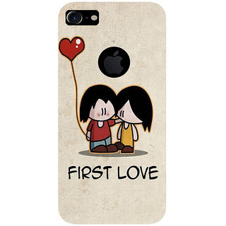 GripIt First Love Printed Back Cover for Apple iPhone 7