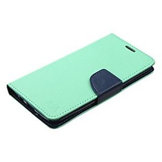 MyBat Wallet Case for LG Tribute 5/K7 - Retail Packaging - Blue/Green/Teal
