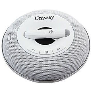 Uniway A8 Multi-functional Buetooth Speaker Hands-free Calling Wireless Speaker Enhanced Bass Portable Speaker Built-in