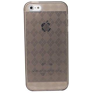 Versio Mobile iPhone 5/5S Pattern Flexiglas Carrying Case - Retail Packaging - Smoke