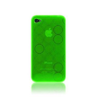 KATINKAS 2018039602 Soft Cover for iPhone 4 - Tube - 1 Pack - Retail Packaging - neon
