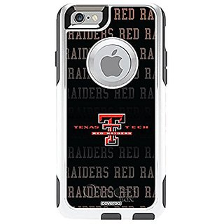 Coveroo Cell Phone Case for iPhone 6 - Retail Packaging - Glacier/Texas Tech Designs