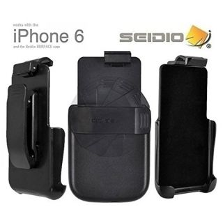 Seidio SURFACE Holster (w Spring-Clip) for the Apple iPhone 6 (HLIPH6ASC)