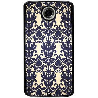 Ayaashii Floral Design Pattern Back Case Cover for Motorola Google Nexus 6