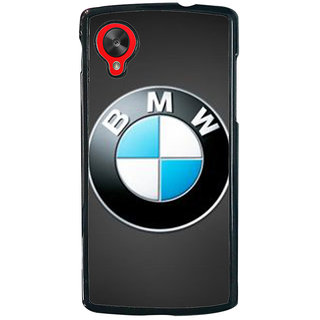 Ayaashii BMW Logo Back Case Cover for LG Google Nexus 5::LG Google Nexus 5 (2014 1st Gen)
