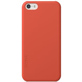 Skech Slim Lightweight Hard Case for iPhone 5C - Retail Packaging - Red