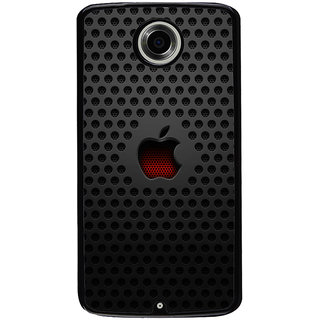 Ayaashii Apple Logo Back Case Cover for Motorola Google Nexus 6