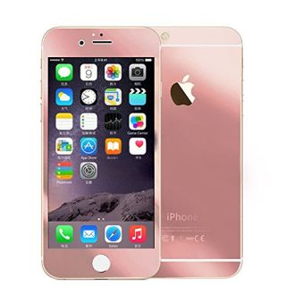 Iphone 6 Plus (5.5) Full Screen Protector, 2.5 D Surface Design, 9 H Hardness. Front+back Mirror Tempered Glass Electrop