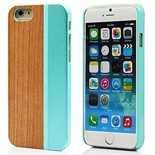 Iphone 6/6S Plus Case,iphone 6 Plus Wood Case, YFWOOD Unique Iphone 6S Plus Metal Wood Case with Luxury New Design Natur