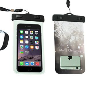 Waterproof Case, SMOSSE Universal Waterproof, Snowproof, Dirtproof Case Bag for iPhone 6S, 6S Plus,6, 5S 5C 5 4S-merry c
