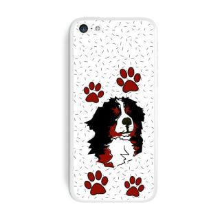 Graphics and More Bernese Mountain Dog of Impressiveness Protective Skin Sticker Case for Apple iPhone 5C - Set of 2 - N