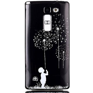 Lg Volt 2 Case, Lg Magna C90 Case Aiyze Black Soft TPU Gel Slim Back Protective Skin Cover Scratch-proof with Universal